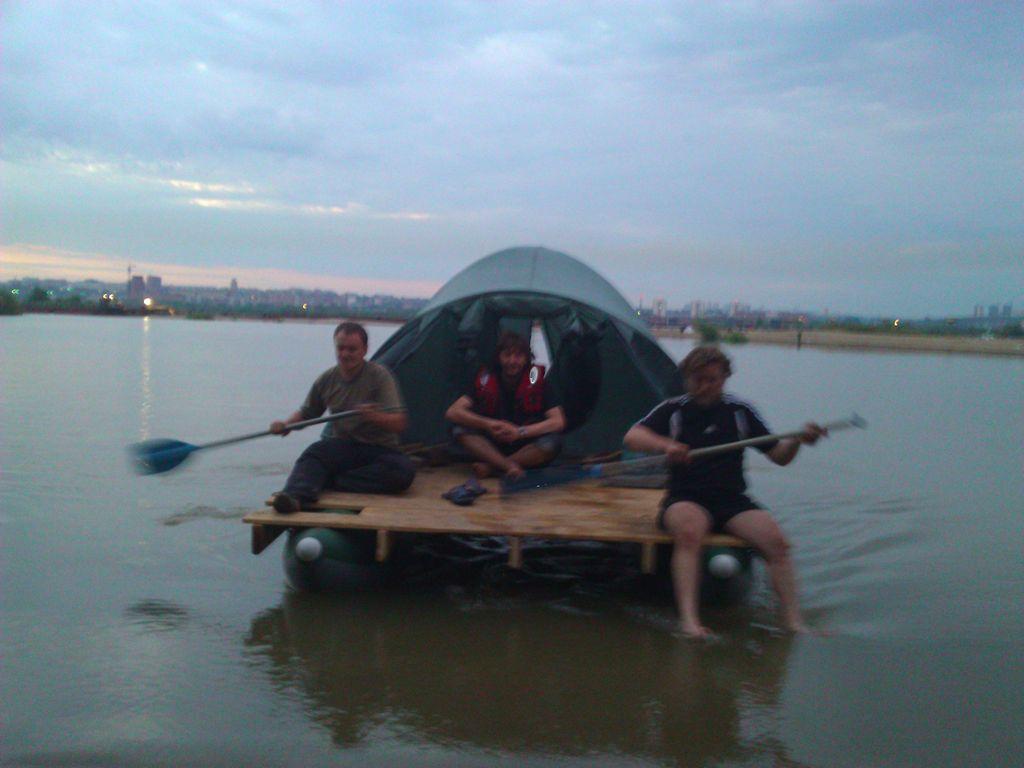 Самодельный катамаран сплав по реке Обь