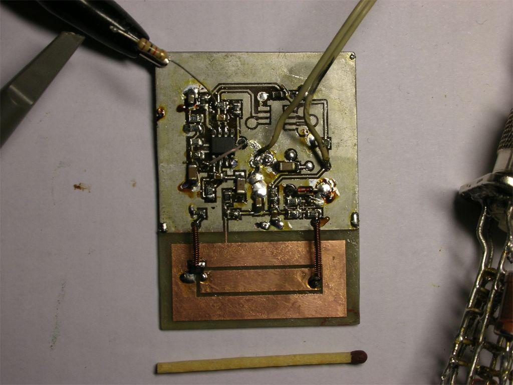 Доплеровский радиолокатор своими руками