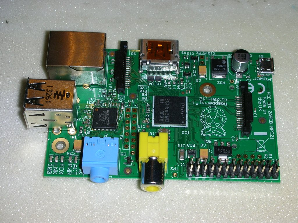 Raspberry Pi model B фото