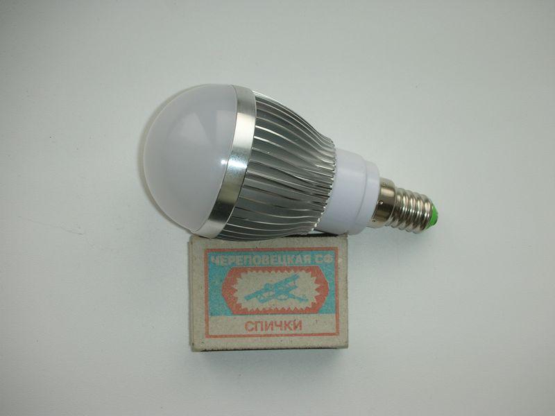 Фото светодиодной лампы заказанной в китае