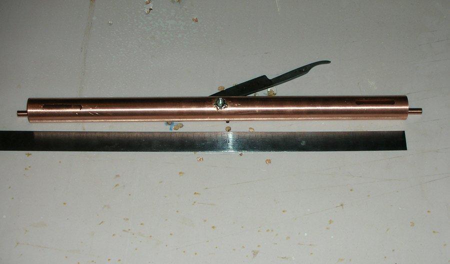 Заготовки из меди для полуволнового фильтра на коаксиальном резонаторе на 70см (426 - 451 МГц) - фото
